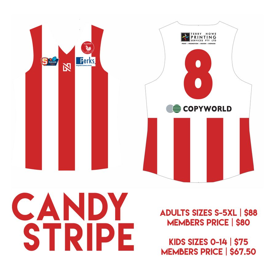eafcd61941 CANDY STRIPED GUERNSEY