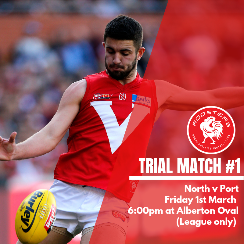 3957363fe47 NORTH ADELAIDE TRIAL MATCH LIST