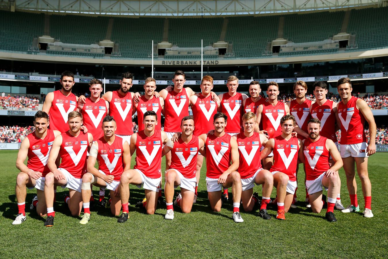 History The Official North Adelaide Football Club Website Ensure Fos Chocolate Tin 1000 Gr Team Photo